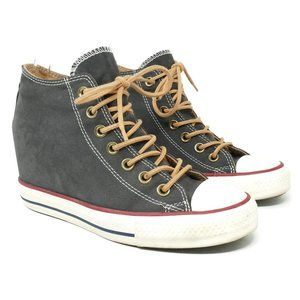 Converse Chuck Taylor Lux Mid Wedge Sneaker 8